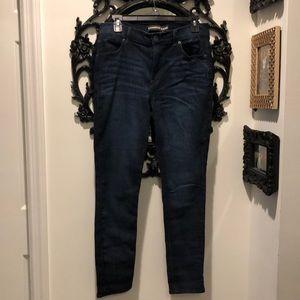 Express High Rise Legging Jean 10 Short